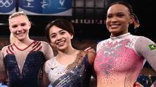 Aunque no está Biles, Estados Unidos ganó oro en gimnasia