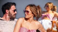 Jennifer López y Ben Affleck disfrutan del sol en las costas italianas de Amalfi