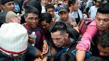 """""""Estamos desesperados, la cita tarda meses"""": inmigrantes hacinados desnudan la crisis migratoria en Tapachula"""