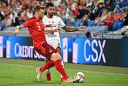 Italia sigue sin encontrar el camino del gol ante Suiza