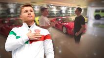Canelo Álvarez abre las puertas de su mansión repleta de carros exóticos