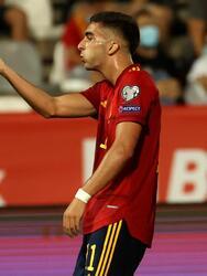 España golea a Georgia 4-0 durante el partido de eliminatoria de la UEFA rumbo al Mundial de Catar 2022. José Luis Gayá (14'), Carlos Soler (25'), Ferrán Torres (41') y Pablo Sarabia (63') lograron darle la victoria al conjunto español, colocándolo en primer lugar del Grupo B.