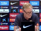 """Koeman afirma que el Barça """"debe ser respaldado, con palabras y hechos"""""""