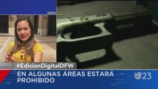 Entra en vigor el porte de armas en colegios comunitarios de Texas