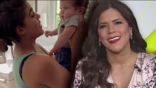 """""""Mela insistió"""": Francisca no podía creer la reacción de su baby Gennaro al conocerla"""