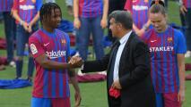 Ansu Fati vuelve a una convocatoria del Barça tras 10 meses de lesión