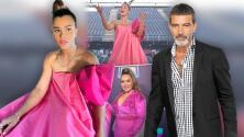 Así de espectacular lució Clarissa Molina en la gala de Antonio Banderas (hasta a Chiquis le encantó)