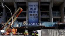 Roban tienda del Real Madrid ubicada en pleno Santiago Bernabéu