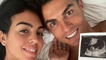 A uno del '7': Cristiano Ronaldo y Georgina esperan gemelos