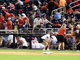 Suspenden juego entre Nationals y Padres por tiroteo fuera del estadio