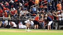 Nationals vs. Padres, suspendido tras tiroteo en el estadio