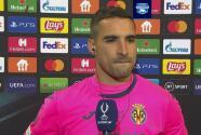 "Asenjo tras caer ante Chelsea: ""Todo Villarreal debe estar orgulloso"""