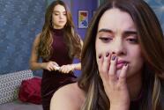 Julieta se enteró de que está embarazada de Sergio y no quiere decirle nada