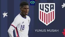 Yunus Musah, un genio del futbol que eligió al Team USA