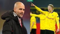 Pep Guardiola ya 'teme' enfrentar al Dortmund por Haaland