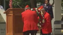Reanudan las ceremonias presenciales por el Día de los Caídos en Carolina del Norte