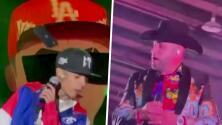 Natanael Cano y Pancho Barraza son agredidos por sus fanáticos en el escenario