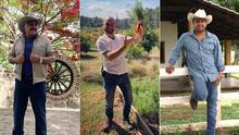 EN FOTOS: Famosos que han cambiado sus costumbres y disfrutan la vida en el rancho