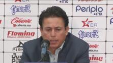 Salvador Reyes no ocultó su molestia por la derrota frente a Lobos BUAP