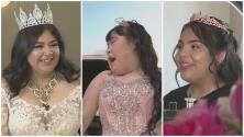 Marisa, Kylie y Lyda celebran sus 15 años con una gran fiesta que recordarán el resto de su vida
