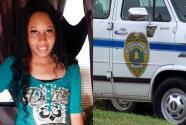 Encuentran el cuerpo de una mujer que estaba desaparecida dentro de una camioneta de la policía