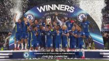 ¡A levantar el trofeo! Chelsea explota de felicidad con la Supercopa