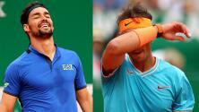 Montecarlo se queda sin favoritos, Nadal es eliminado en Semifinales