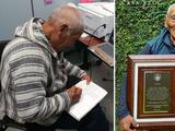 """""""La vida es solo una"""": hombre de 84 años se gradúa de ingeniero y planea seguir estudiando"""