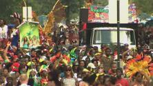 En medio de estrictas medidas de seguridad se llevan a cabo el Festival J'ouvert y el Desfile de las Antillas