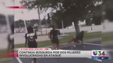 Continúa la búsqueda de dos mujeres involucradas en una pelea