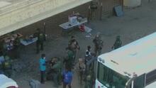 Desalojan a los últimos 200 migrantes haitianos que quedaban bajo un puente en Texas