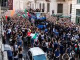 Un muerto y varios heridos fue el saldo de los festejos en Italia por el título de la Euro