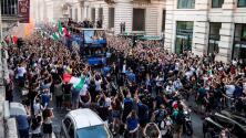 Festejos en Italia por el título de la Euro dejan un muerto y varios heridos