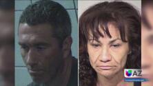 Arrestan a pareja por robo de vehículos