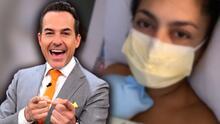 Carlos Calderón y Vanessa Lyon en tiernas fotos con su bebé entre sus brazos