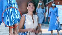 La reina Letizia, una vez más, usó un bolso de imitación con el que ofendió a artesanos de Mallorca