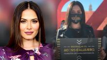 Andrea Meza fue víctima de acoso sexual y ahora encabeza una campaña para concientizar a la gente