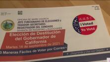 Pronostican baja participación de los votantes latinos para la elección de revocación de Gavin Newsom