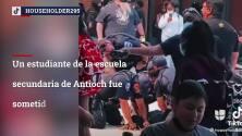 Arrestan a estudiante en escuela secundaria de Antioch
