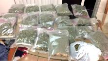 Mujer y dos hombres, sospechosos de almacenar, poseer y distribuir marihuana en Miami-Dade