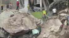 """""""Todo se destruyó"""": desprendimiento de tierra y rocas del Cerro del Chiquihuite cae sobre varias viviendas"""