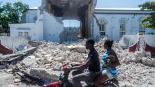 Comunidad en Haití prefiere estar bajo carpas y en las calles ante el temor de fuertes réplicas