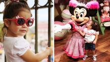 Giulietta y sus papás tuvieron un mágico fin de semana rodeados de princesas