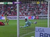 ¡La 'bomba'! Henry Martín consigue el 1-1 de América