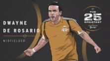 The 25 Greatest: Dwayne De Rosario autor de golazos inolvidables y ganador de cuatro títulos