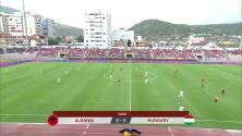 Resumen del partido Albania vs Hungría