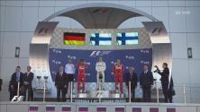 El finlandés Valtteri Bottas de Mercedes gana el Gran Premio de Rusia