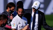 Zinedine Zidane pide disculpas por falta de minutos a Isco