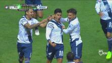 Puebla anota de forma tempranera y se pone adelante 1-0 sobre Necaxa