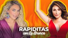 """""""¿El papá de quién?"""": Aracely Arámbula se puso nerviosa y así respondió a 'Las Rapiditas' de La Bronca"""